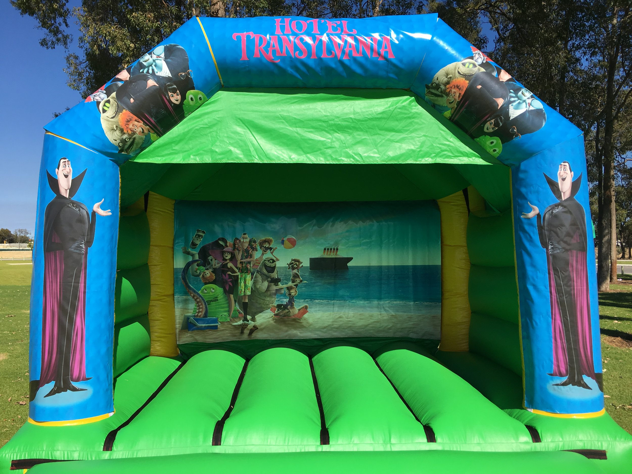 Cars Bouncy Castle Hire Mandurah