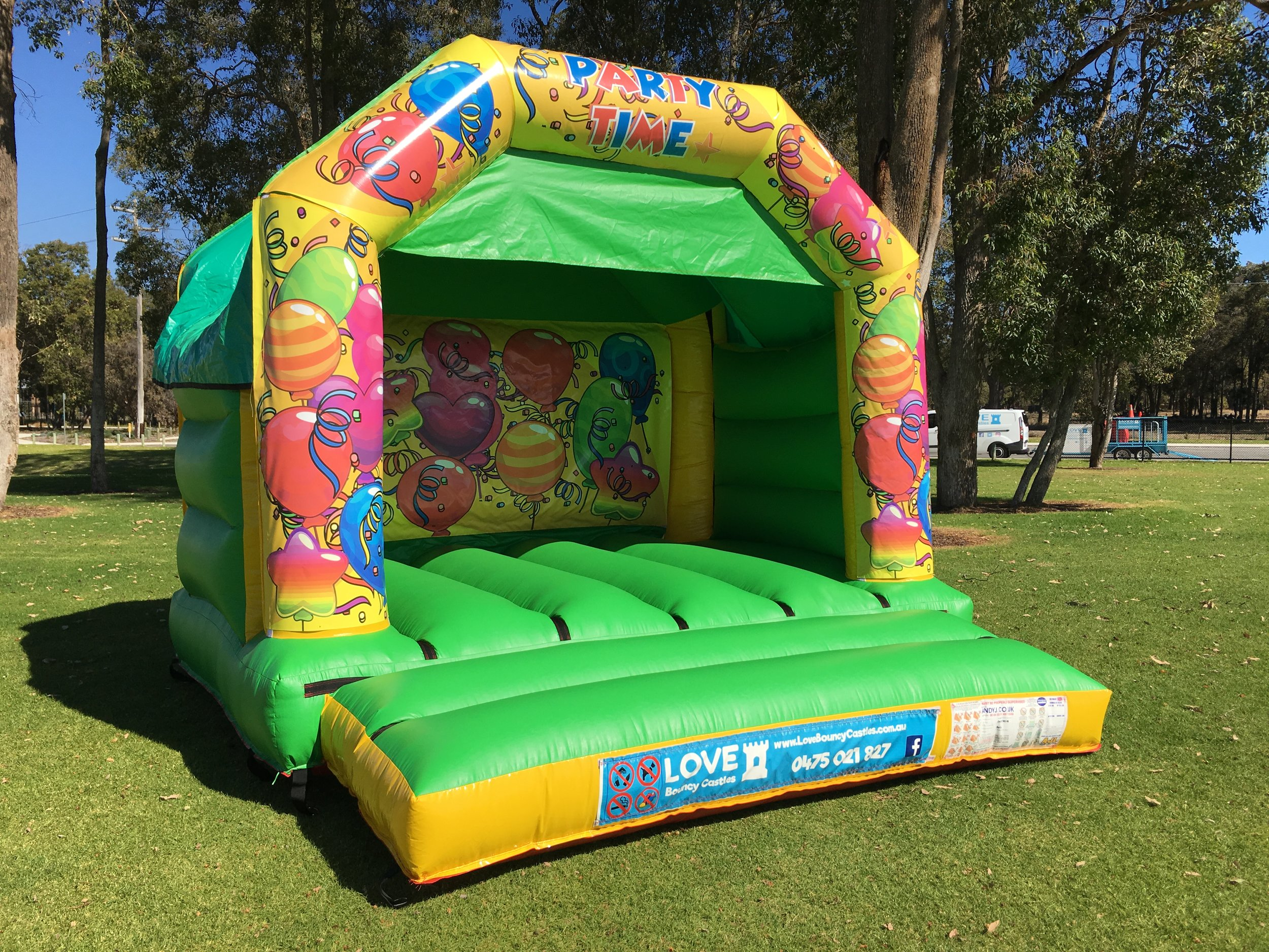 Disco Bouncy Castle Hire Rockingham