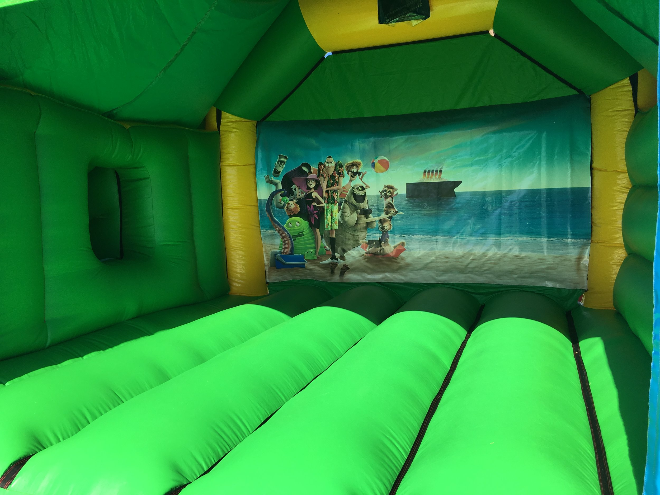 Disney bouncy castle hire with slide Mandurah