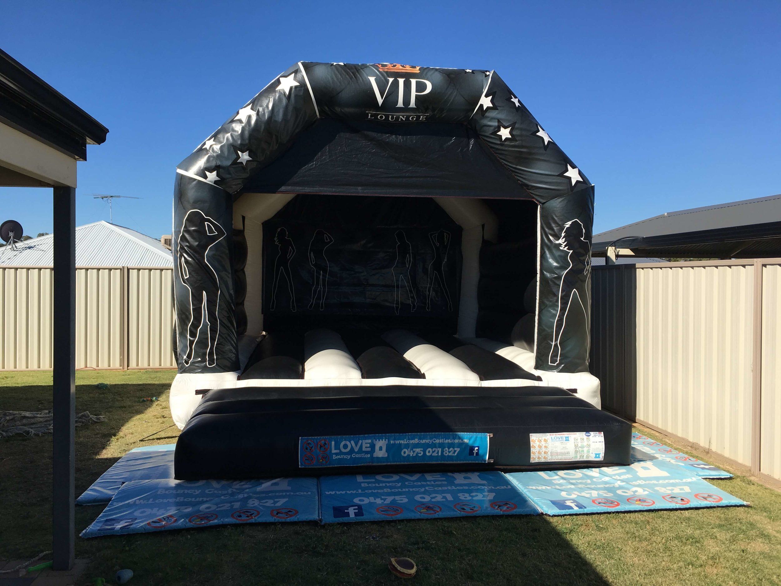 VIP Adult Bouncy Castle Hire Rockingham