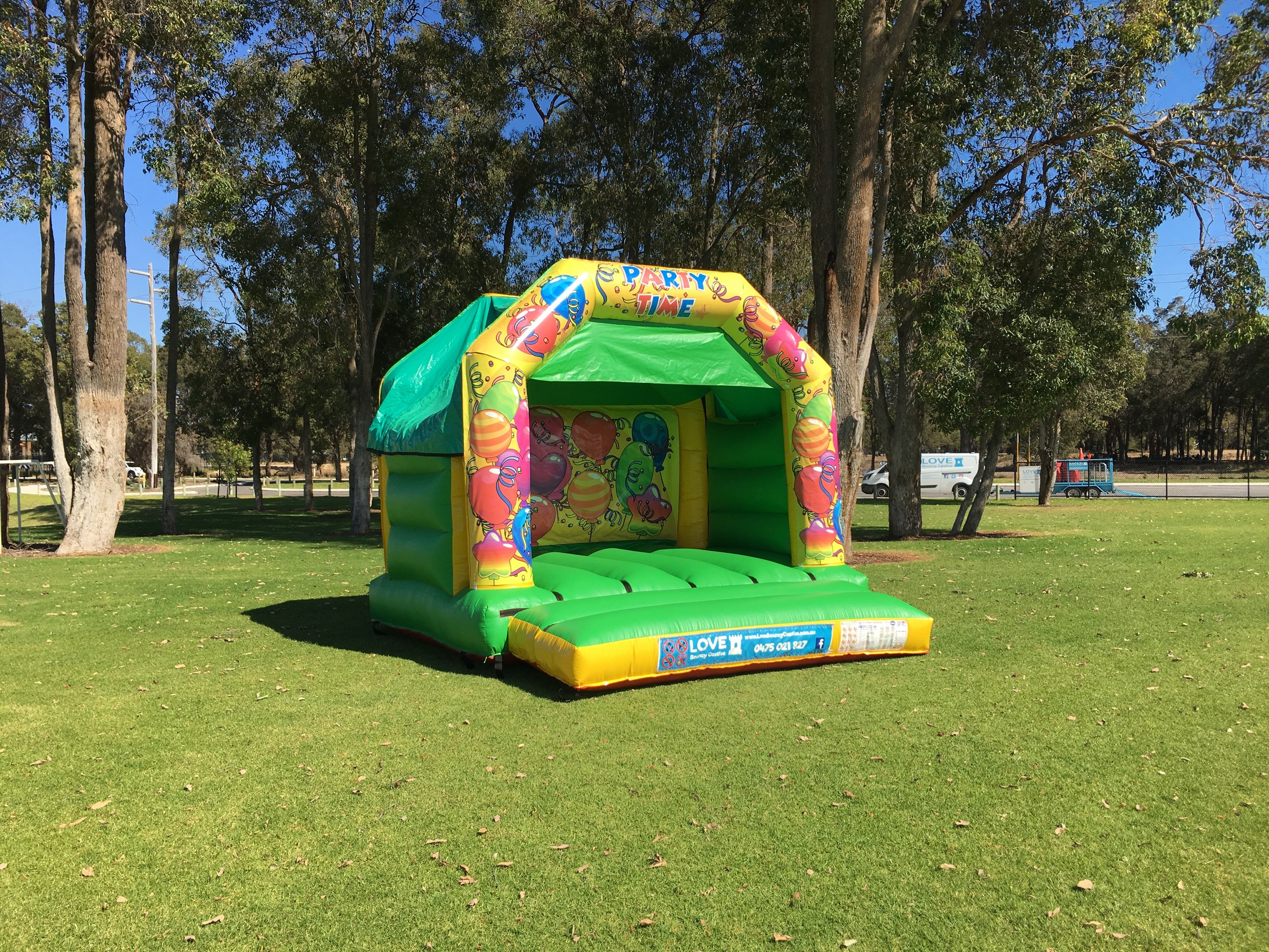 Cars Bouncy Castle Hire In Perth