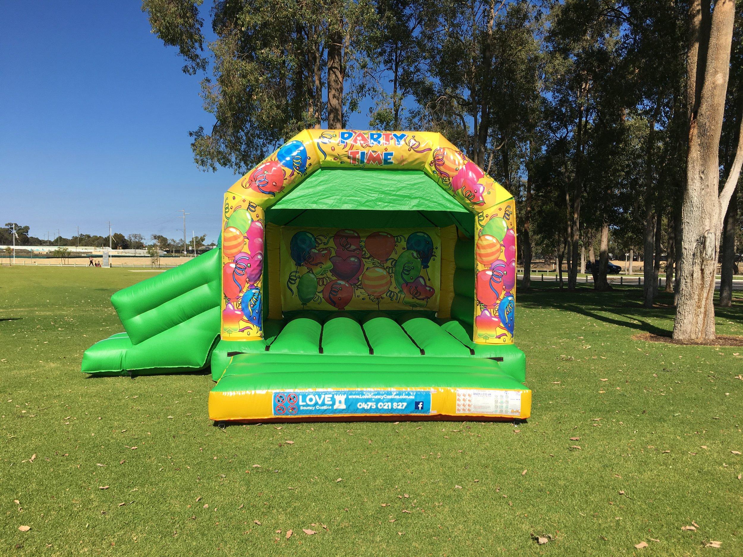Wiggles Bouncy Castle With Slide Baldivis