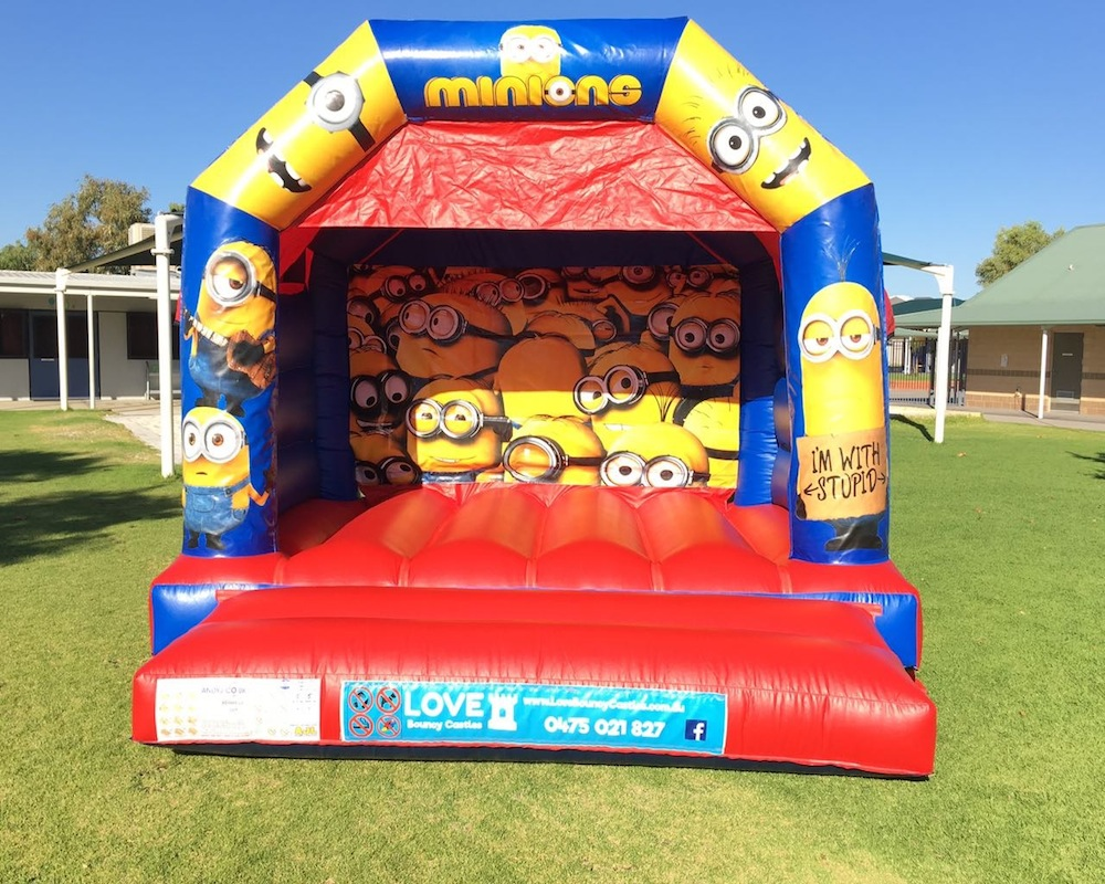PEPPA PIG THEMED BOUNCY CASTLE $249