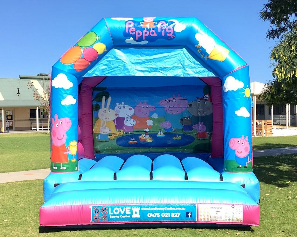 SUPER HEROES THEMED BOUNCY CASTLE $249