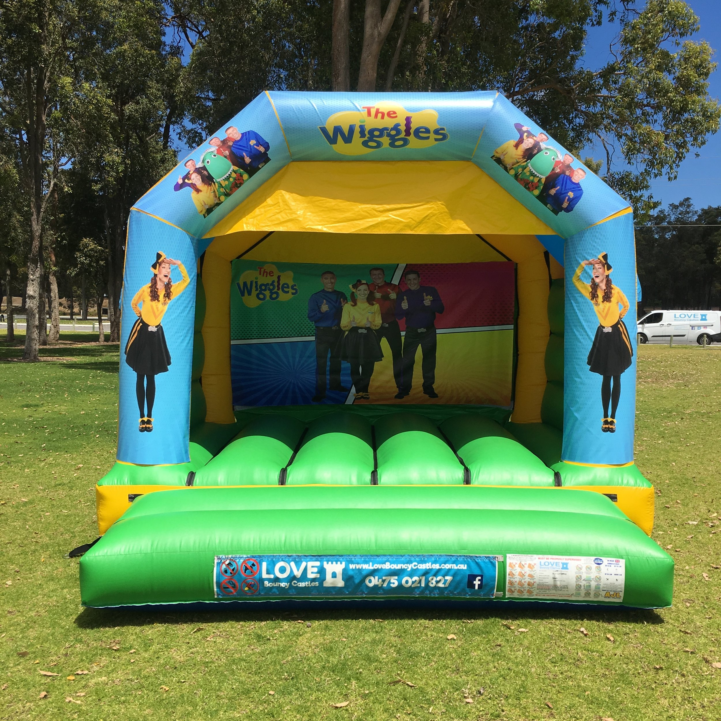 Disco Party Bouncy Castle Perth