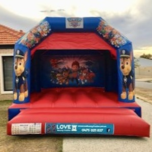 THOMAS THE TANK ENGINE BOUNCY CASTLE $249