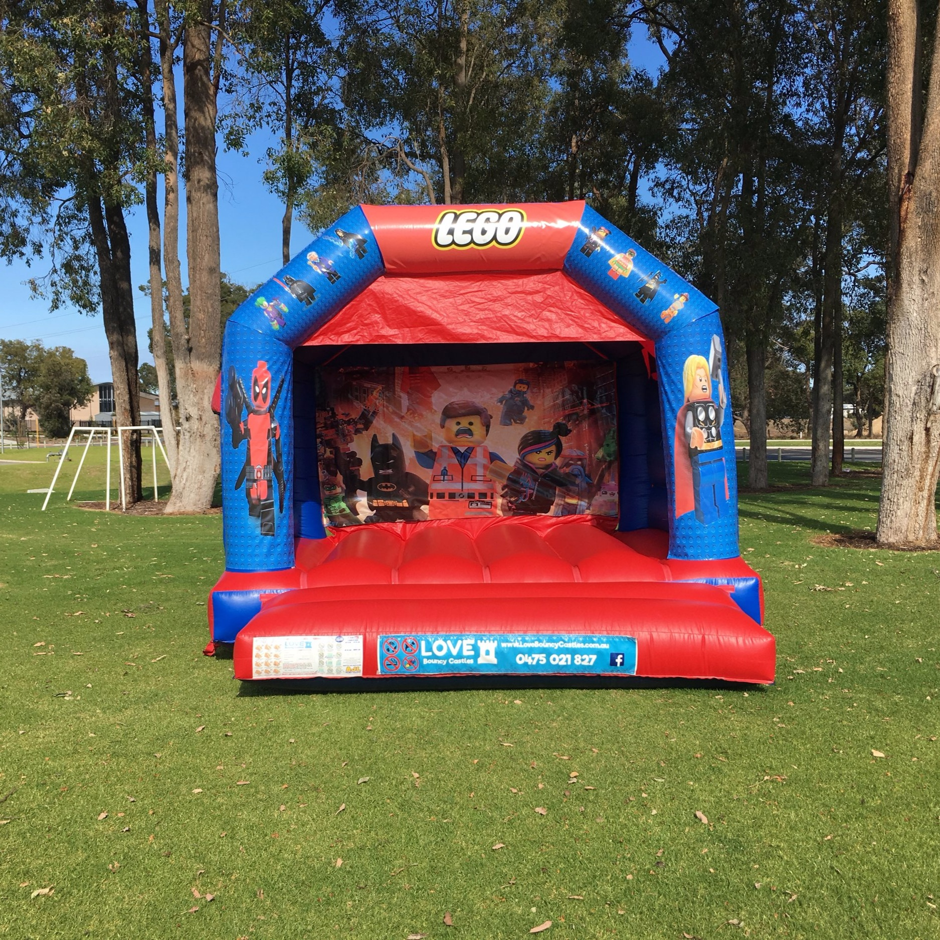 LION KING THEMED BOUNCY CASTLE $249