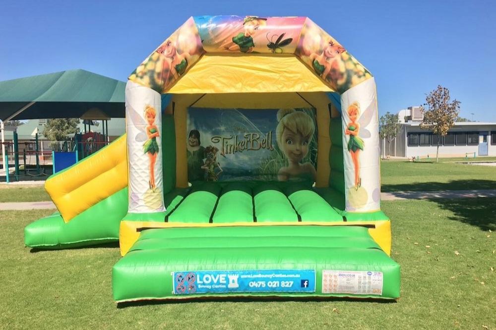 PJ Masks Bouncy Castle Hire With Slide Perth