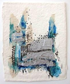 Landscape 6, O.I. ink mixed media, 24 - 30