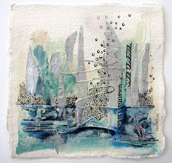 Landscape 5, O.I. ink mixed media, 20 - 20