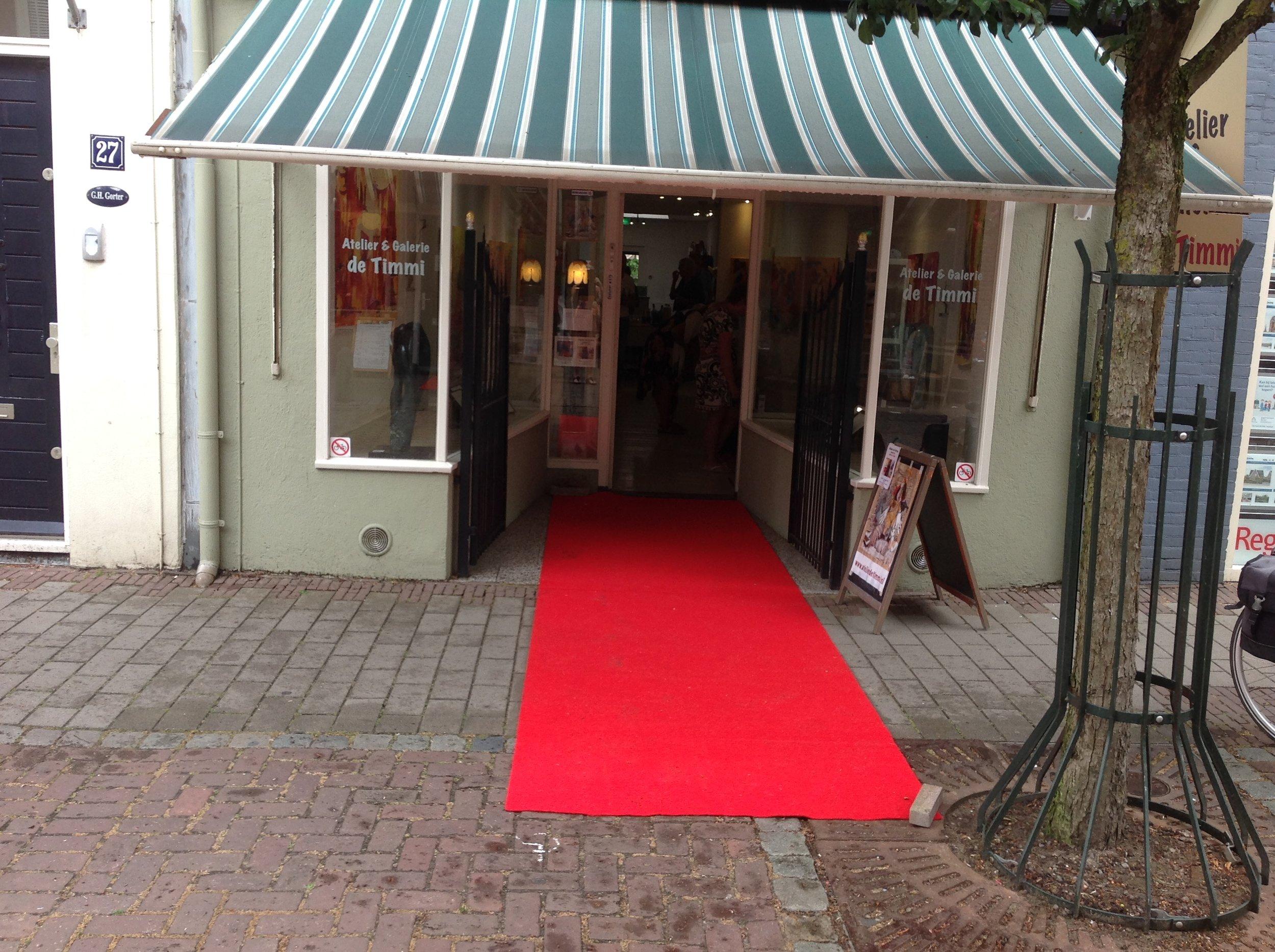 Atelier& Galerie De Timmi . Prachtig liggend in het historisch stadje Doesburg. Kerkstraat 29.