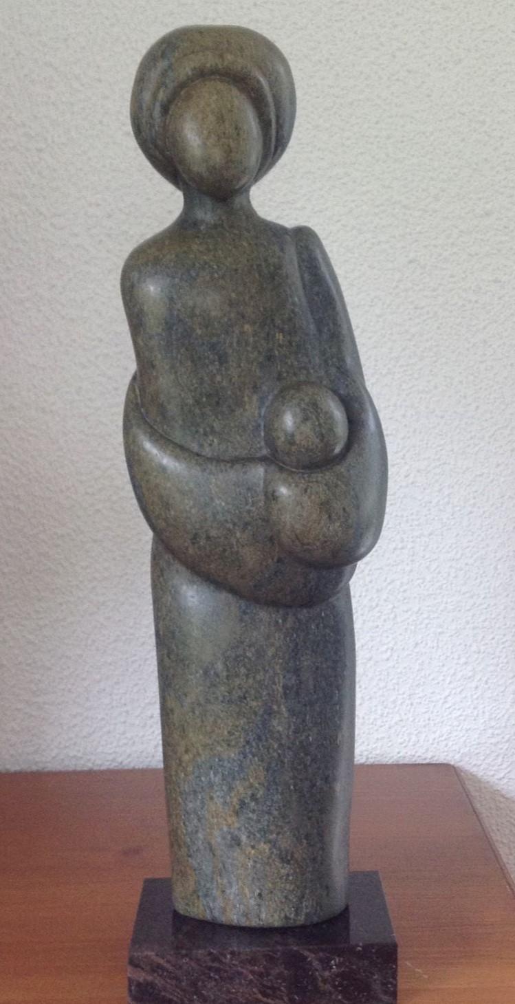 Moeder & Kind, Serpentijn Fruit, door Angelie Eimers