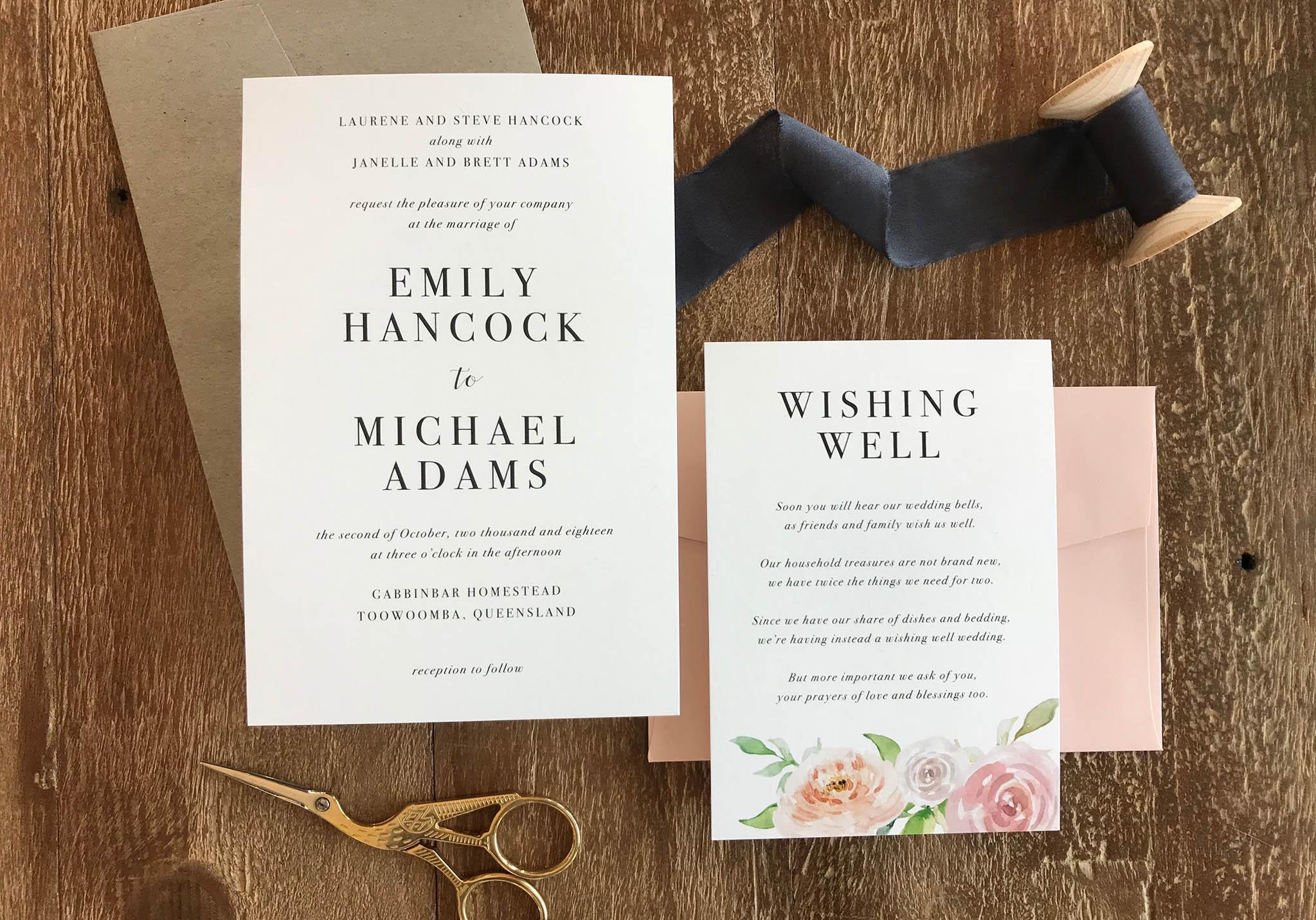 ficus and fig design modern romance wedding invitation suite.jpg