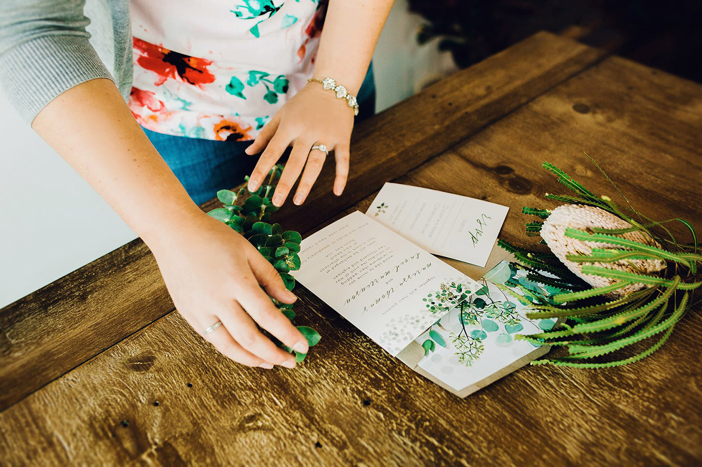 ficus and fig design eucalyptus wedding invitations.jpg