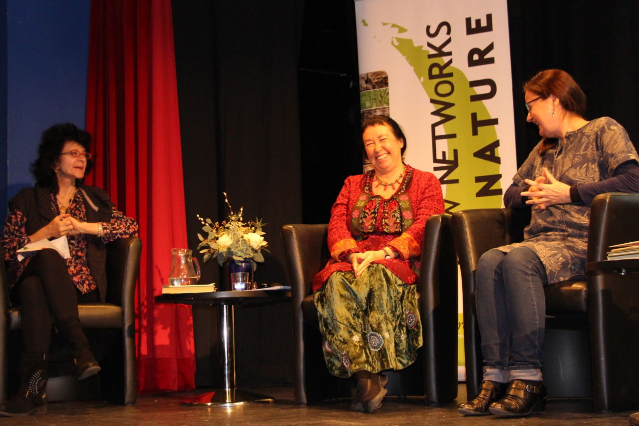Ruth Padel, Pascale Petit and Jo Shapcott © Tim Birkhead