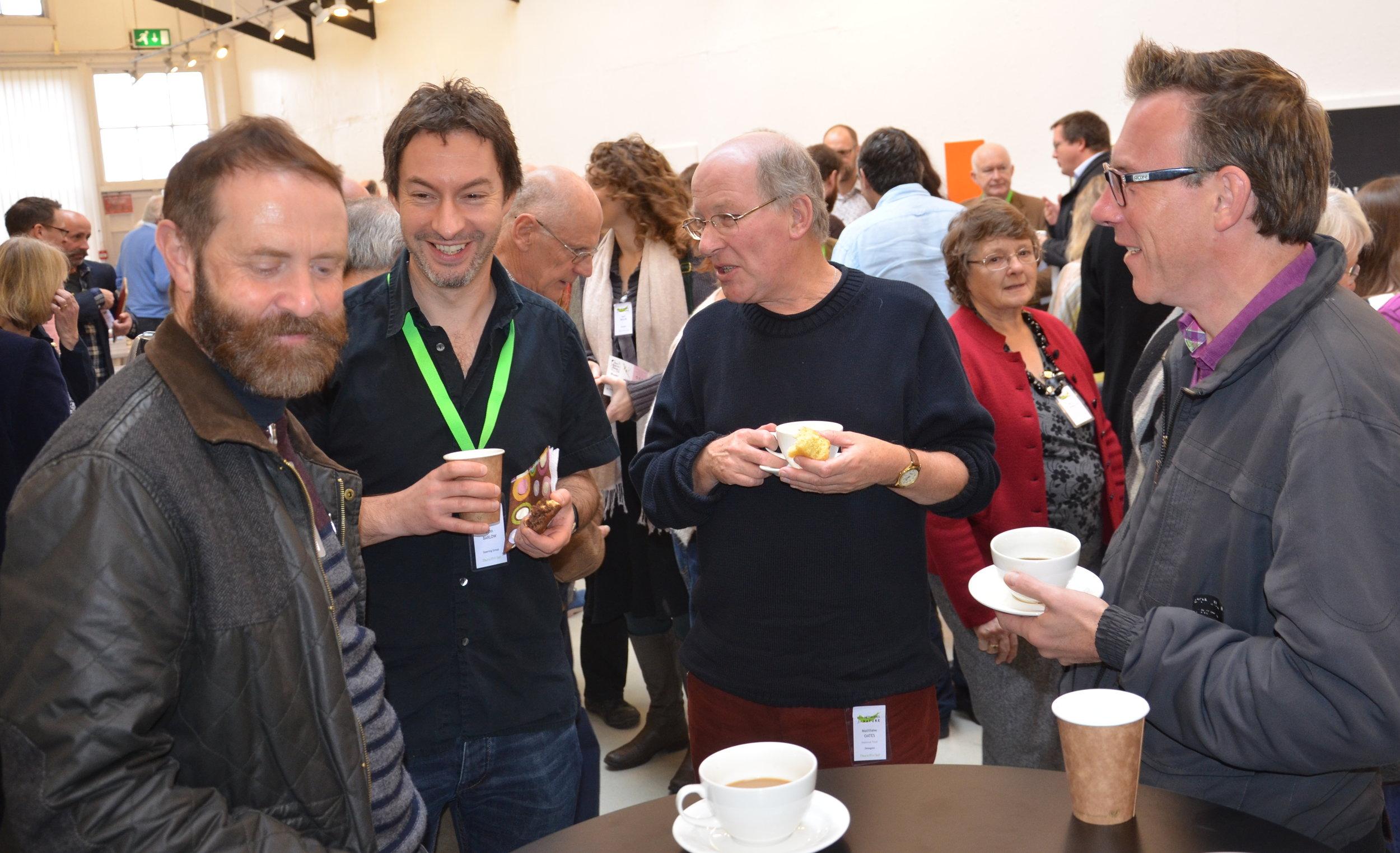 L–R: Simon Chard, John Barlow, Matthew Oates and Matthew Paul © Carry Akroyd