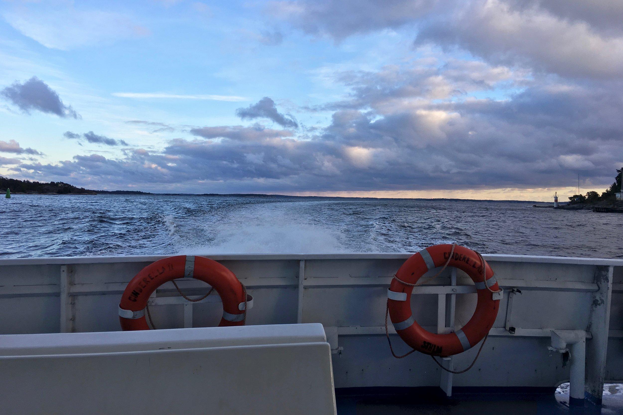Waxholmsbolaget Ferry    photo by L.D. Van Cleave
