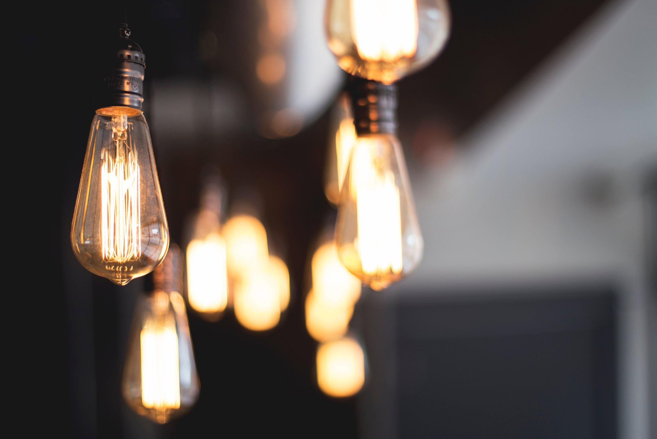 Filament Bulbs (Photo: Kari Shea)
