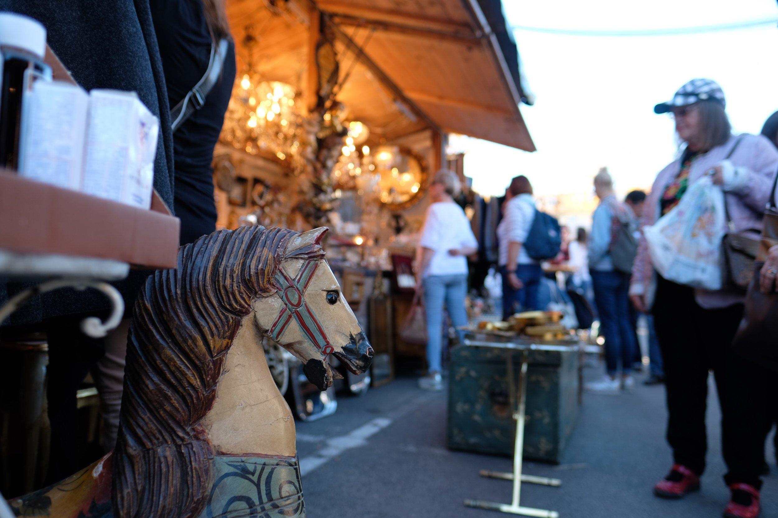 German Autumn Market    photo by L.D. Van Cleave