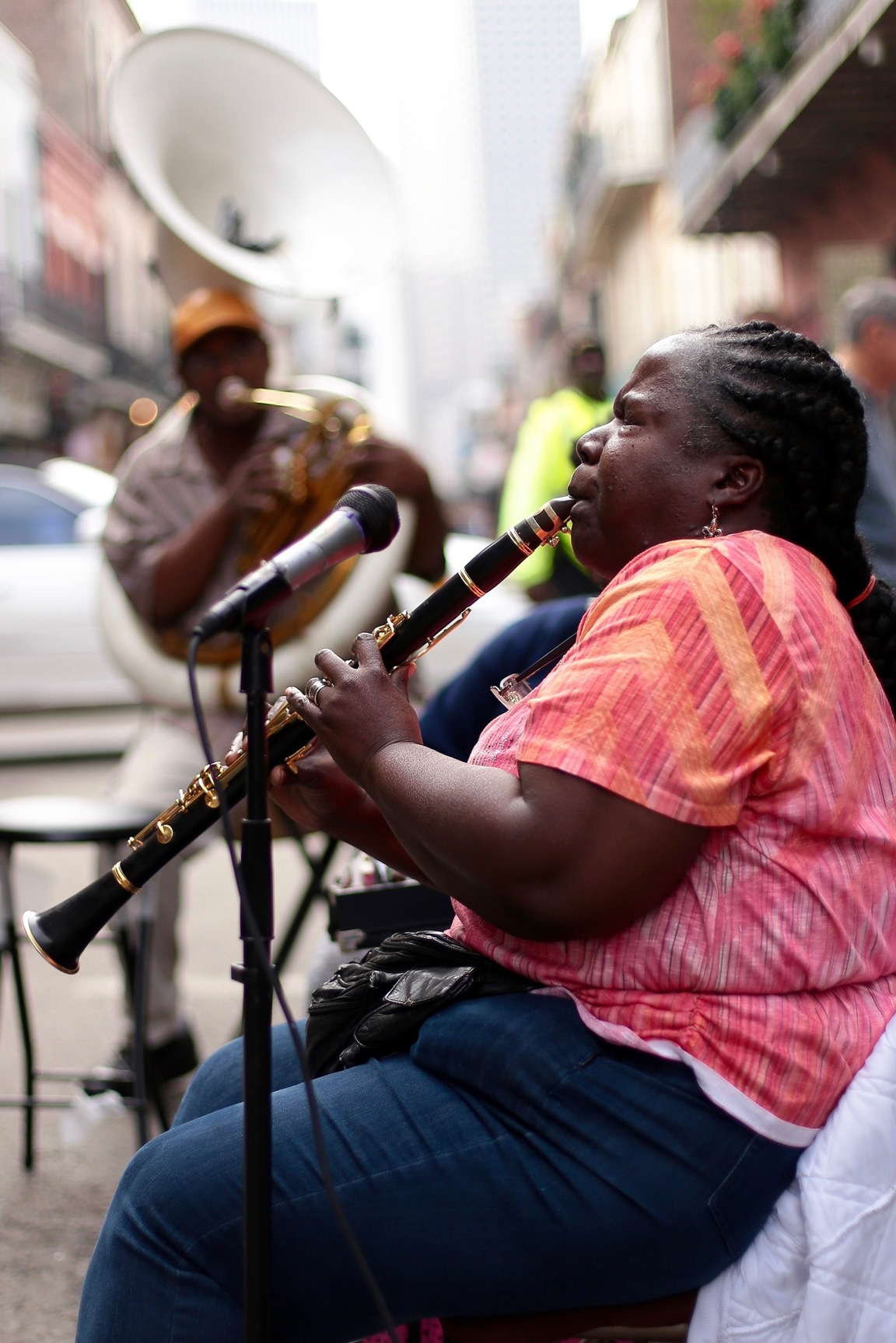 Jazz lives on the streets of New Orleans (Photo: Nathan Bingle)