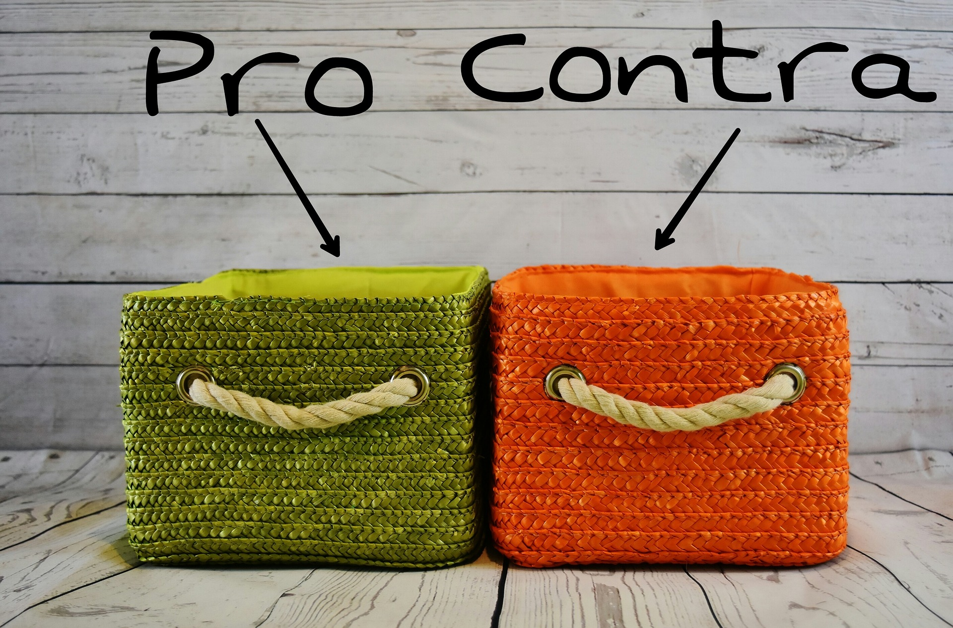 pro and contra