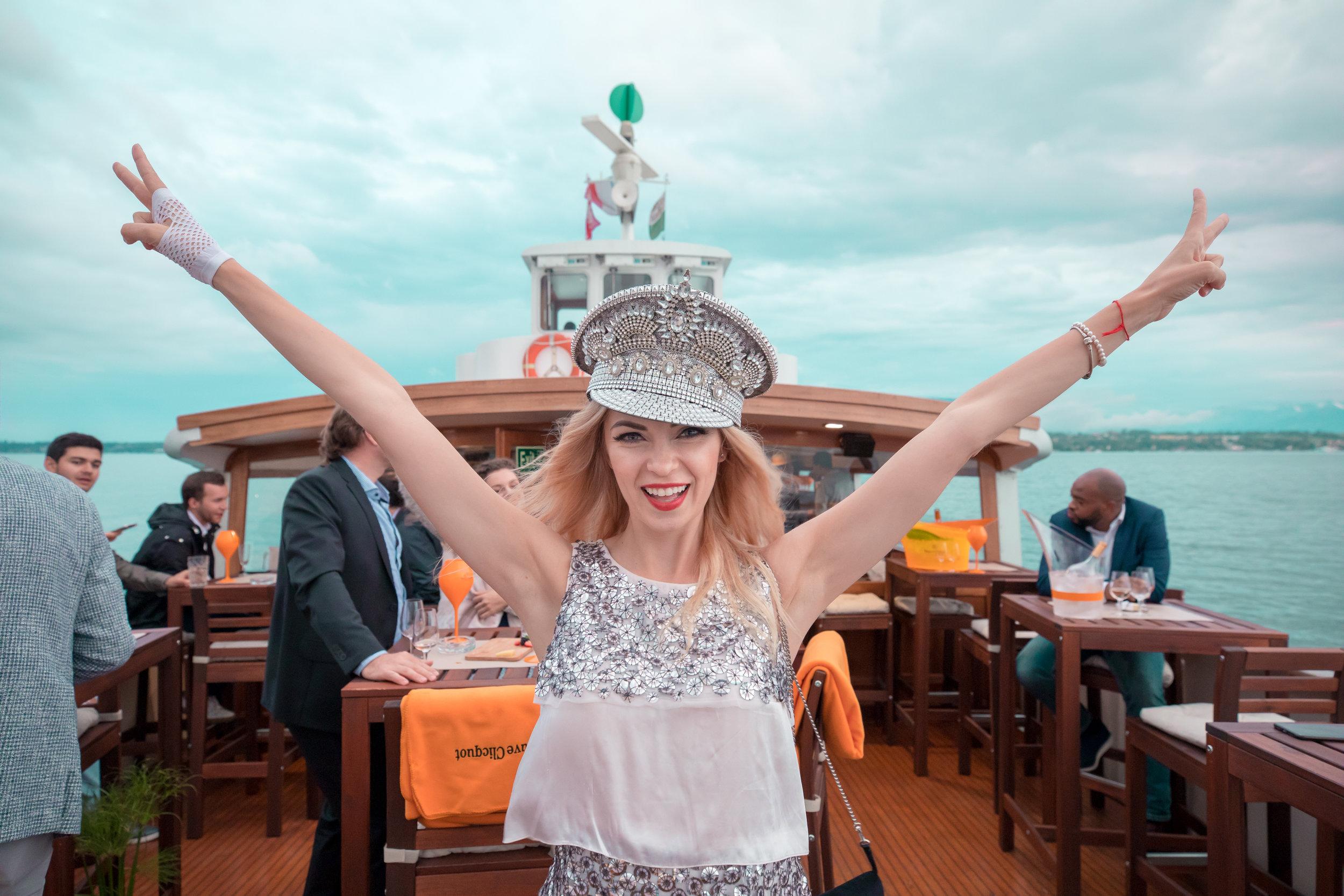 Worn by beautiful Russian blogger Irma Lake