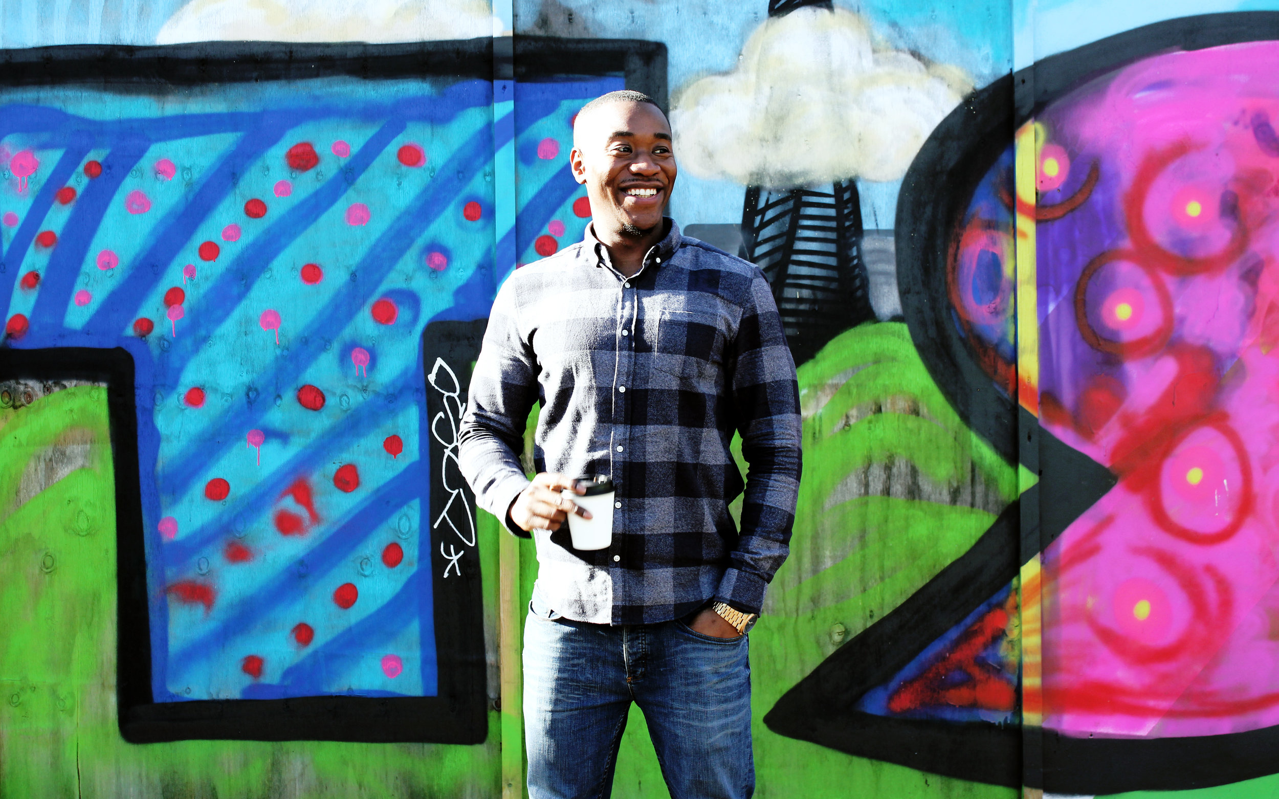 jamal blades - Business Development Manager Adventurous and always up for a challenge, Jamal enjoys keeping fit and being outdoors. He has also recently completed a successful climb of Mount Kilimanjaro. His love of coffee is matched by his passion and commitment to understanding clients' business needs and the challenges they face. His focus is on translating clients' needs into creative ideas that achieve outstanding results.