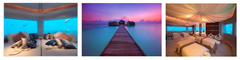 28 June 2019:  Maldives island idyll  Huvafen Fushi  invites couples to revel in profound intimacy with an immersive new sensorial spa journey for two in the hidden embrace of the underwater world. The couples'   Indulgent Dreamscape     experience combines unparalleled nature and timeless luxury in the ethereal setting of the world's first and only underwater spa, encouraging couples to reconnect and rejuvenate with rediscovered passion.  As the sun rises over the dreamlike space of the resort's legendary Huvafen Spa, couples are welcomed with a bespoke beverage ritual; a multisensorial experience centred on a personally blended elixir of natural healing herbs and invigorating spices to awaken the senses. Stretching towards pure serenity, couples will continue their journey of togetherness with a private Yoga and meditation class in the embrace of Huvafen Spa's underwater treatment area. In the shimmering world of blue surrounded by vibrant tropical marine life, couples are encouraged to support one another and connect whilst relaxing into a deep meditative state.  The blissful morning continues with a tantalising Underwater Breakfast followed by a curated two-hour journey of rituals and treatments by PURE Massage. A truly unique top-to-toe treatment, tension is eased away with a healing neck, back and shoulder massage, whilst the unique natural Revitalising Face Pure Massage leaves guests radiant and glowing. Before the journey ends couples can enjoy a deeply soothing foot massage to refresh and invigorate tired muscles.  After resurfacing from the otherworldly cocoon of the underwater spa, pulsating flavours await at innovative wellness restaurant RAW with a lunch of unadultered fresh flavours to restore inner balance and bring natural healing.  Set in enchanting surrounds and an atmosphere of total discretion, couples can slip away from prying eyes and relish unbound intimacy at Huvafen Fushi. Impeccable style has been achieved with chic accommodation and fresh 