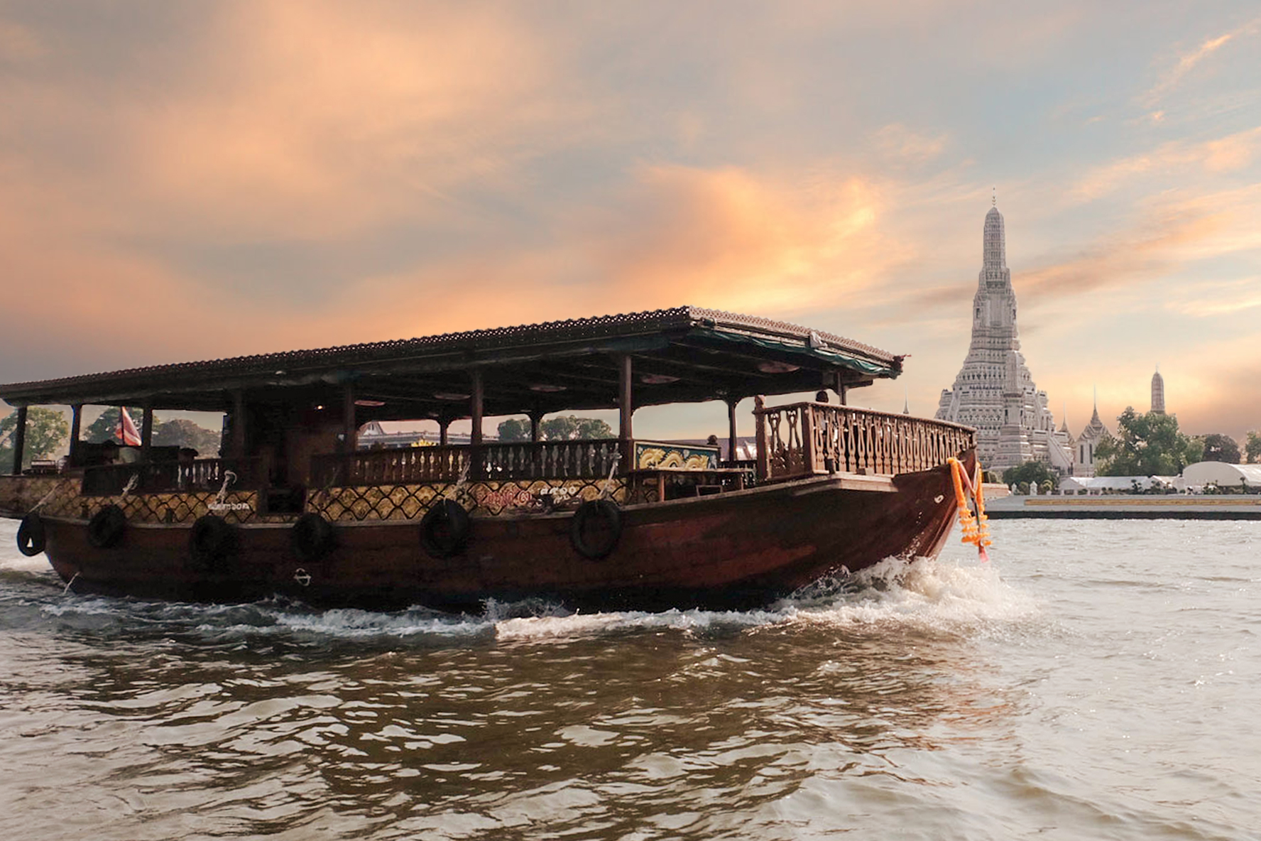 Rua Khun Mae - Siam River Cruise - Sunset Cruise