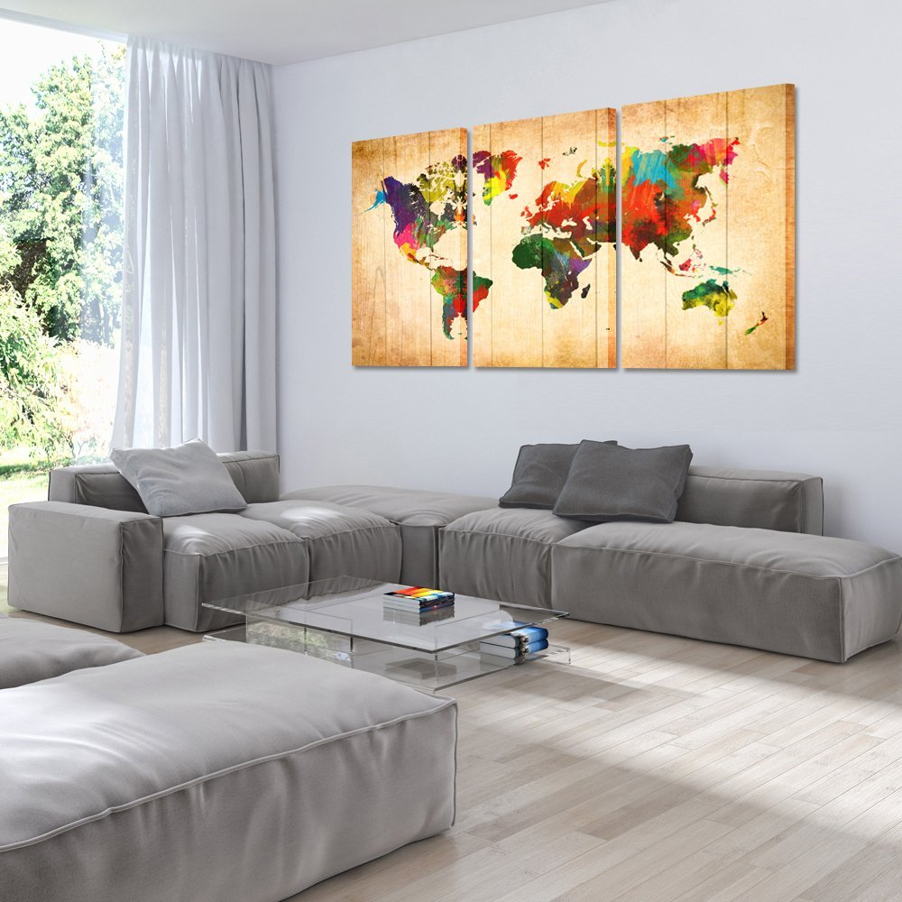Color popping! - This masterpiece really stands out on your wall. A true eye catcher for a true traveler!
