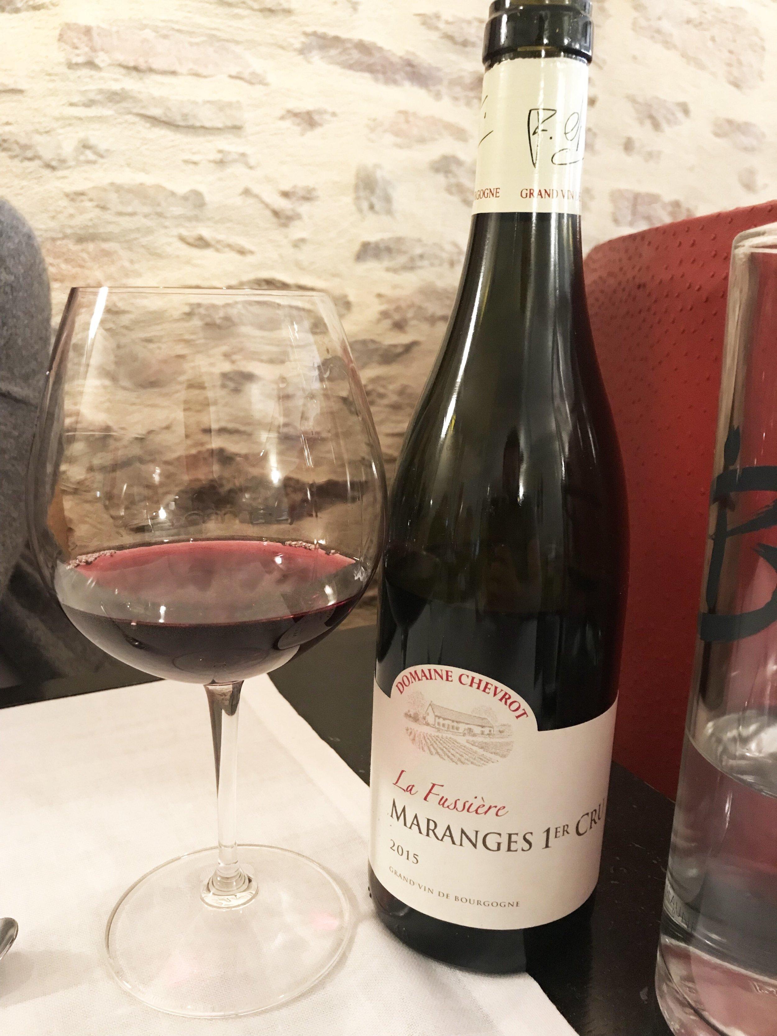 Amazing Burgundy Red Wine!