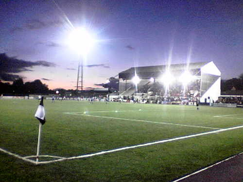 Dundalk's young stars play their underage games on the exact same pitch as Stephen Kenny's Lilywhite heros.