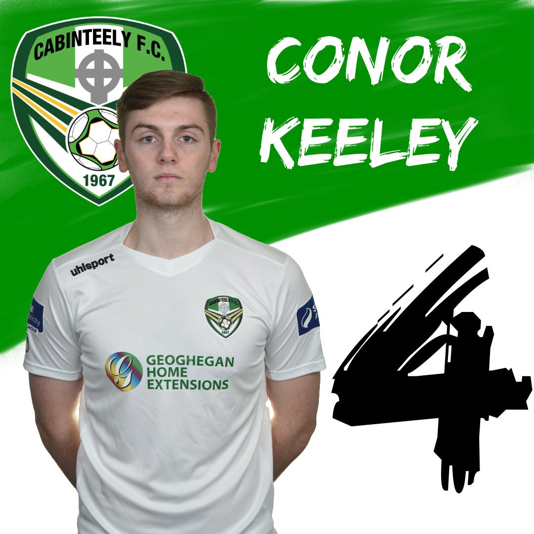 NAME: Conor Keely, CURRENT CLUB: Cabinteely, POSITION: CB