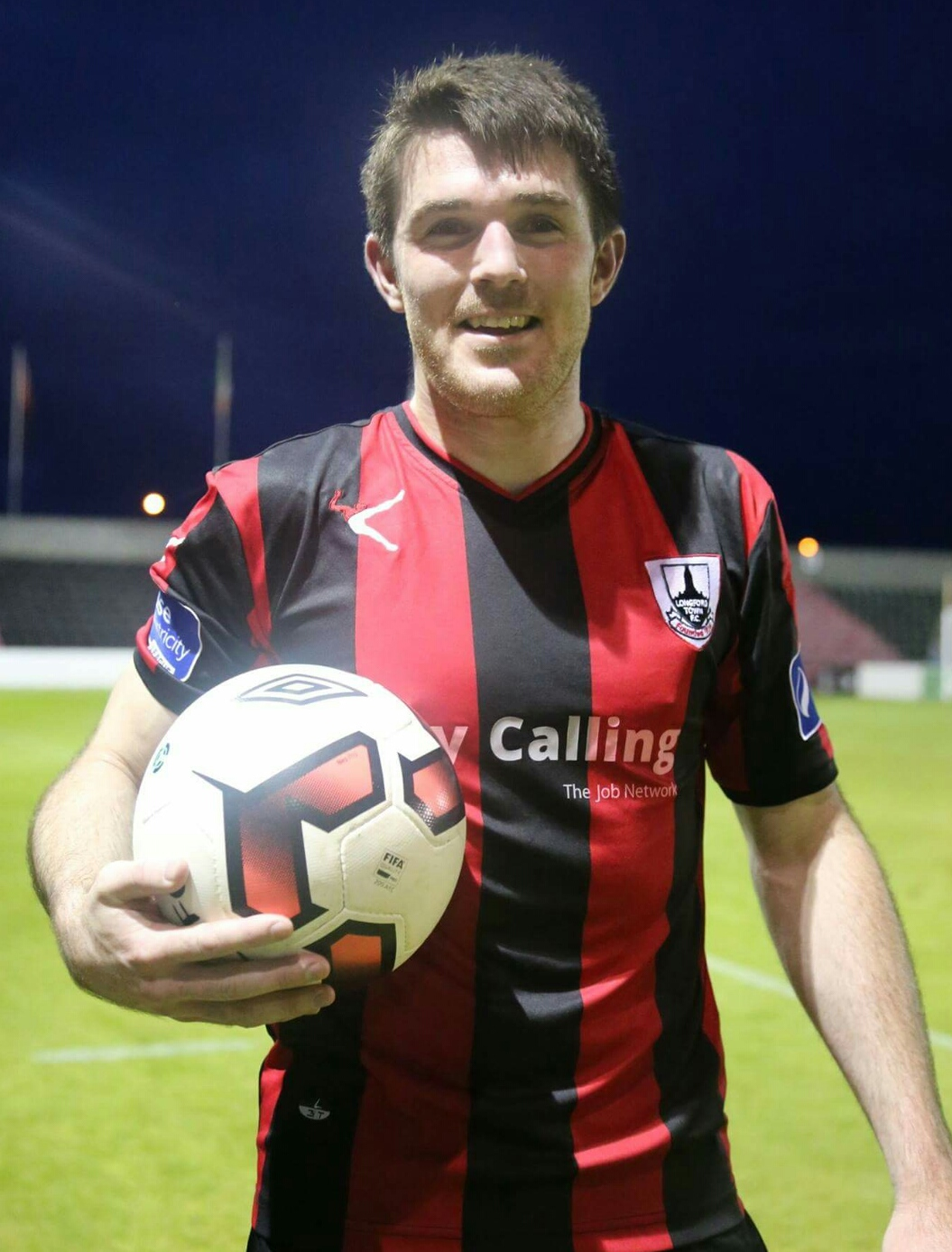 A First Division winner back in 2014 with Longford, Davy O'Sullivan had a knack for breaking scoring records. Photo credit - Tiernan Dolan,  ltfc.ie