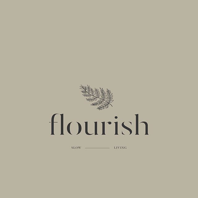 Flourish — a logo. 🌿 . If this feels like déjà vu... no, you're not going crazy. 😂 I've shared a version of this semi-custom logo before, but I've updated the little fern. So here it is + some of its variations if you swipe left. . I've begun creating a collection of semi-customisable logos and marks (icons or stamp-like logos), and I'm really excited about it! 🙌🏼 . Each semi-custom branding collection will have a: + basic branding strategy pdf that will really help you make this logo your own, with prompts for journaling & creating + primary logo + secondary logo + set of marks + brand pattern or set of illustrations/embellishments + custom, comprehensive colour palette + font suite + branding style guide (or manual) and a template for making it more your own . If you'd like to be notified when this and other logos are available for purchase, you can sign-up to my special mailing list just for this (link in bio). . Well, I'm off to the polls - it's voting day here in South Africa. 🇿🇦