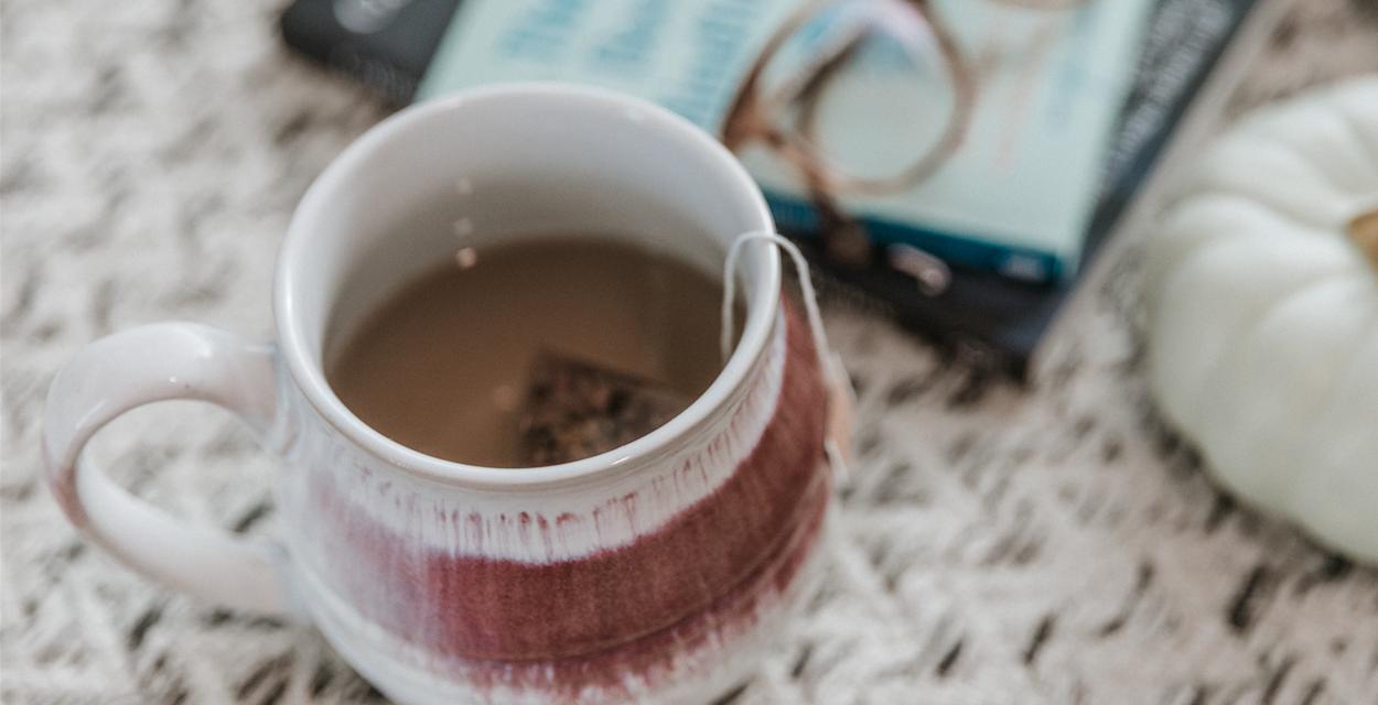 Welcome cup of tea