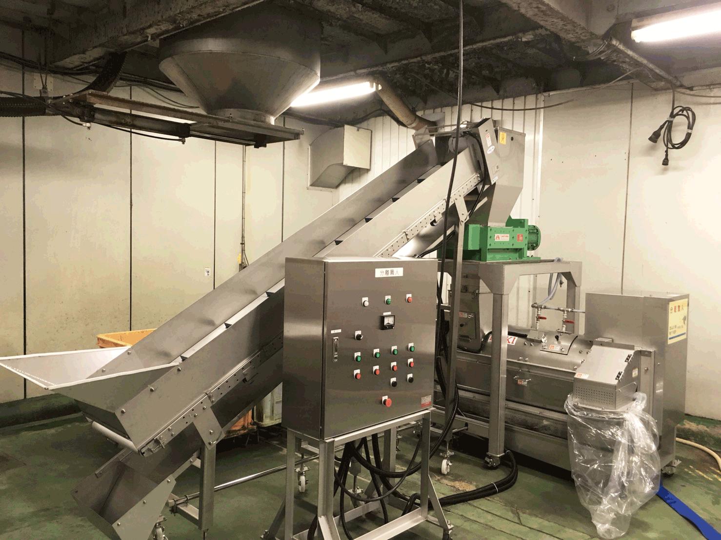 廃プラ洗浄機 導入事例3