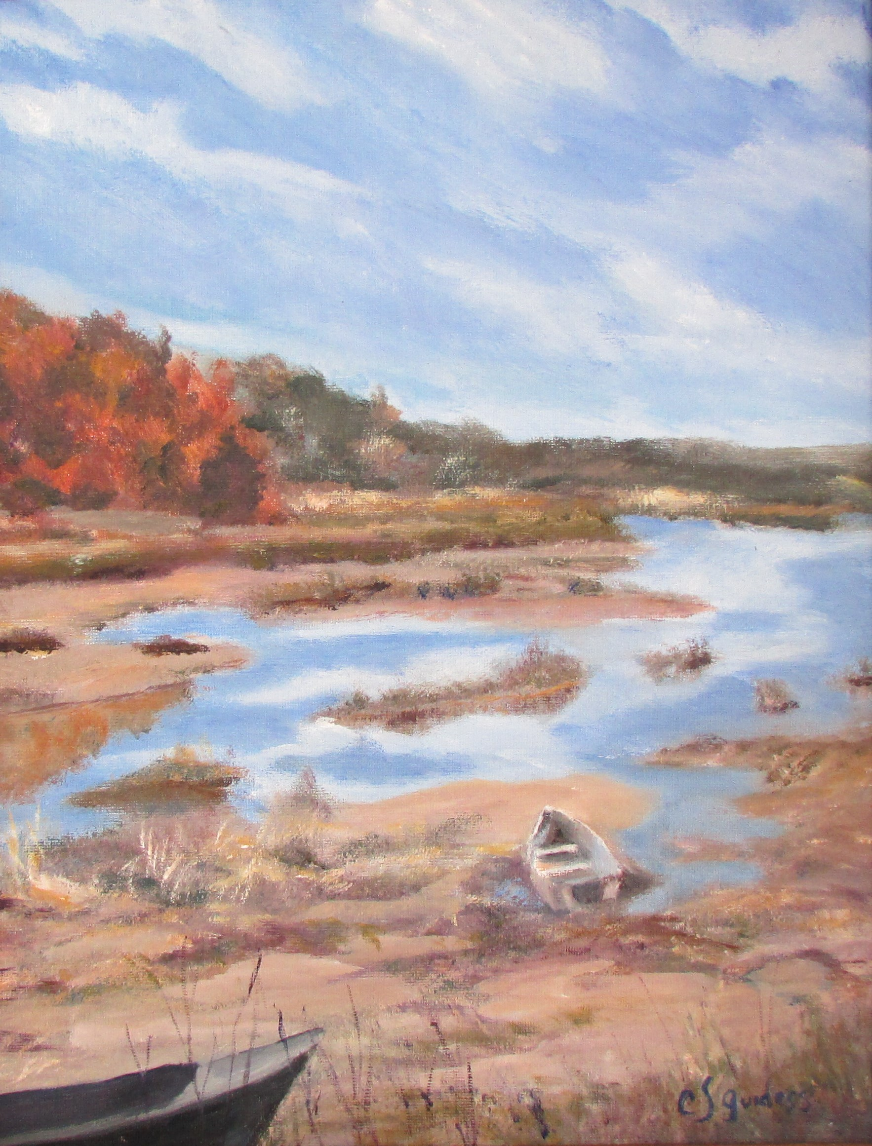 Inland Marsh 14x11 Oil $290