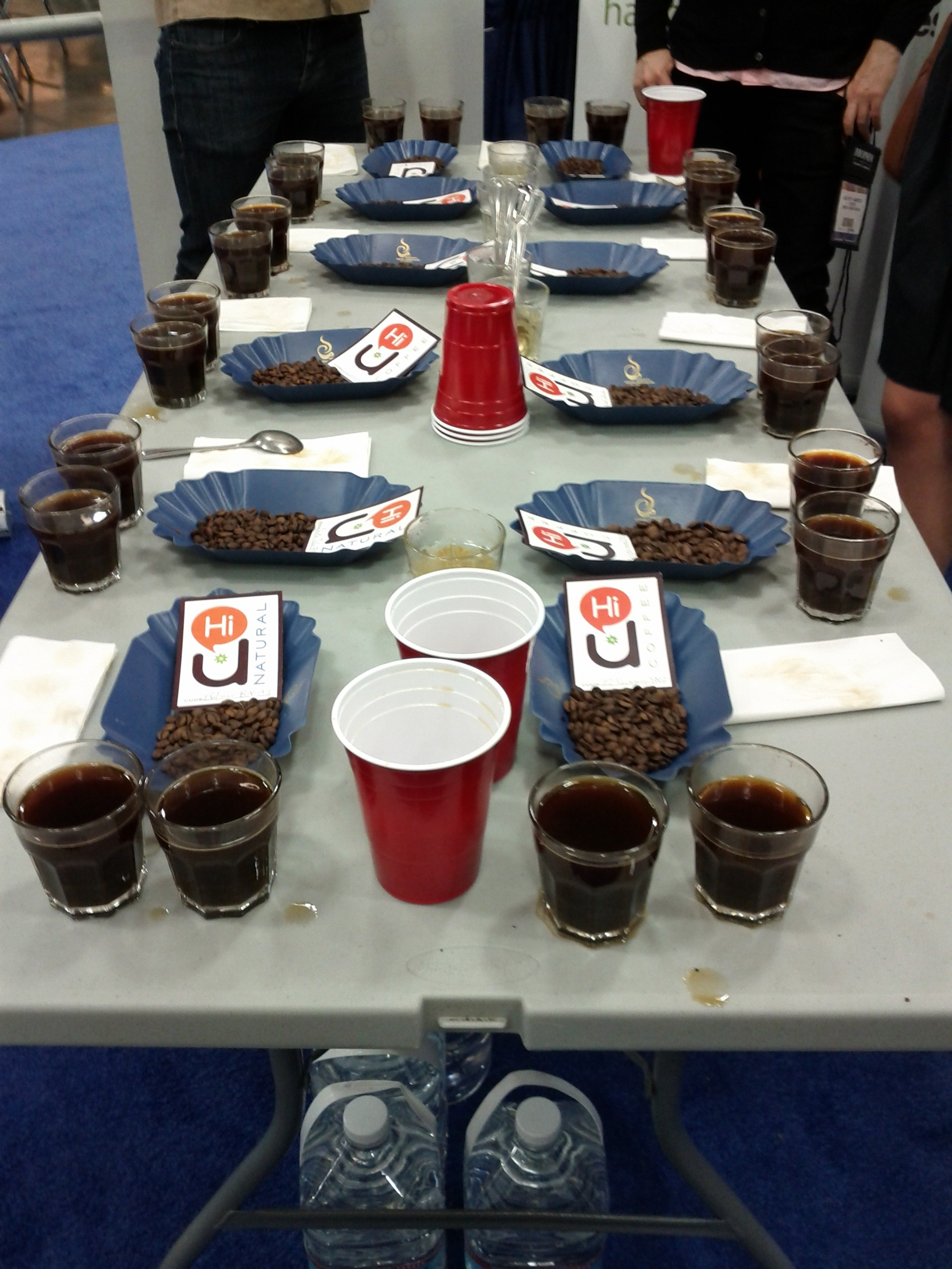 Cupping with HiU