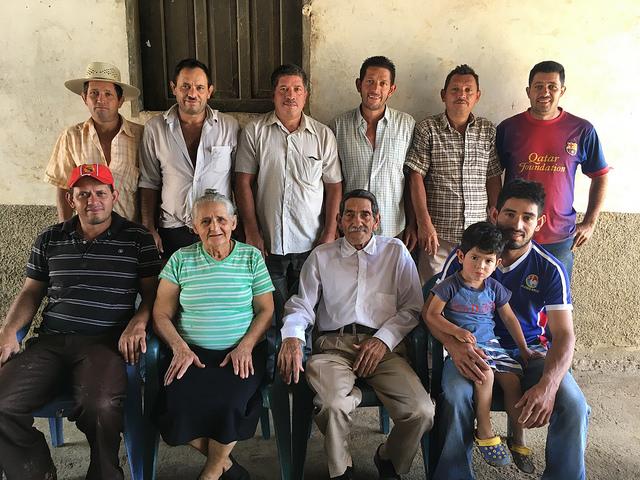 Moreno Family, El Cedral, Santa Barbara