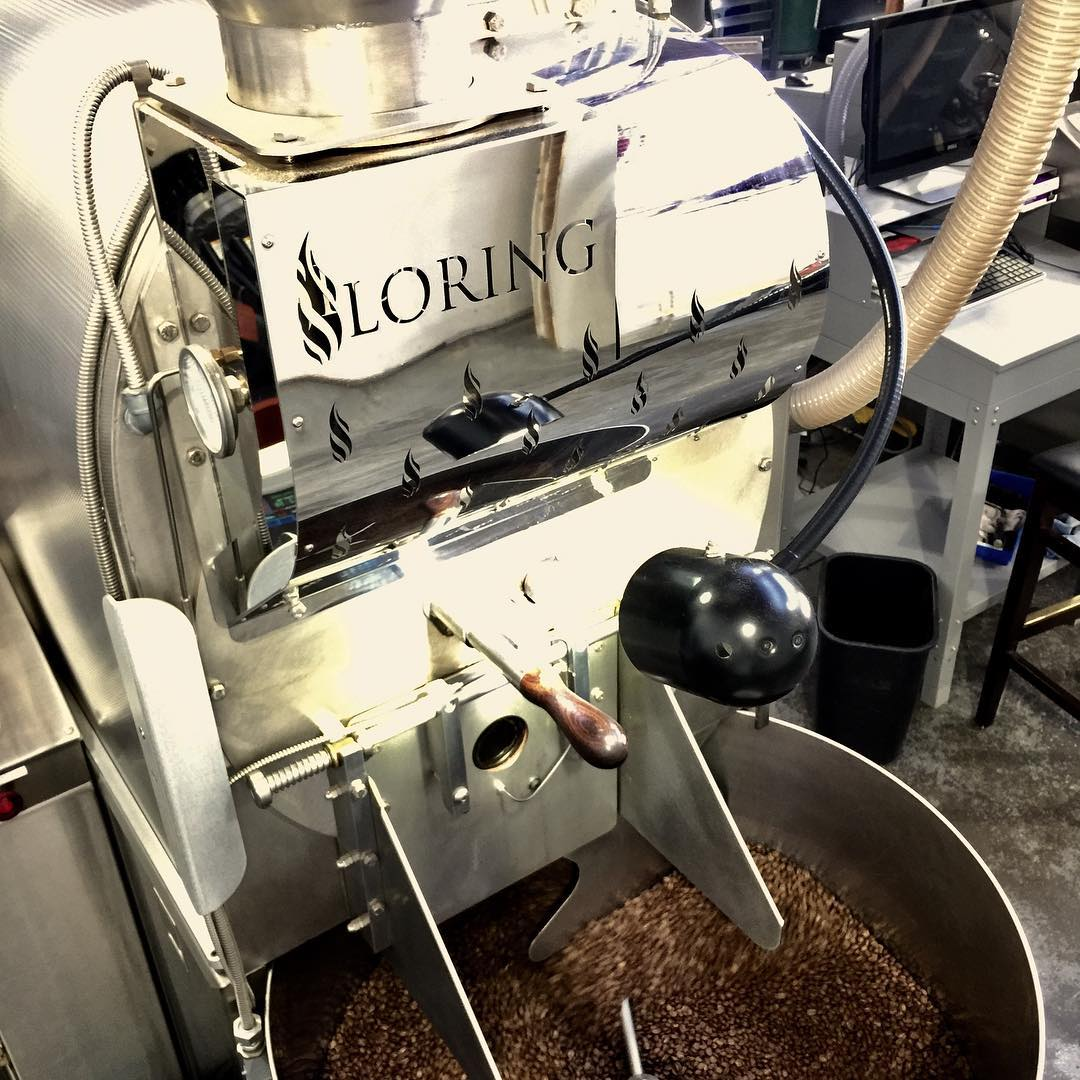 One of four roasters available on the CoRo production floor. Image courtesy of  Bay Area CoRoasters .