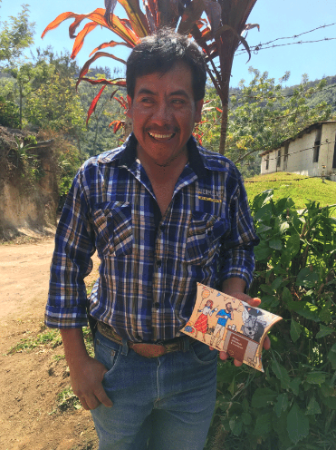 Farm Manager Cornelio Sapet has been working and living at Chuito since 1998.