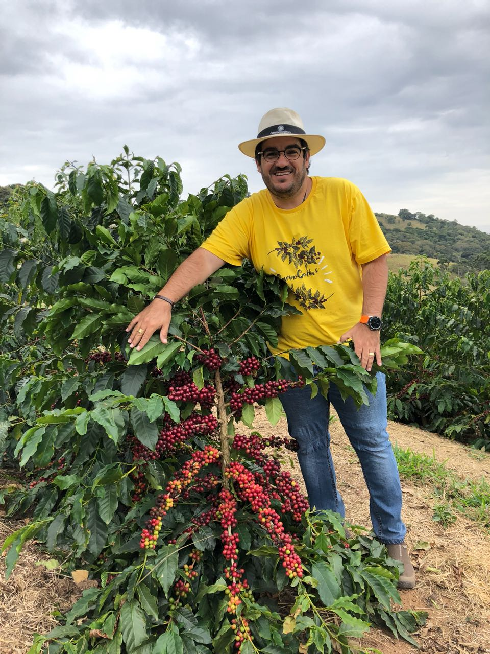 Luiz Paulo Pereira, co-founder of Carmo Coffees