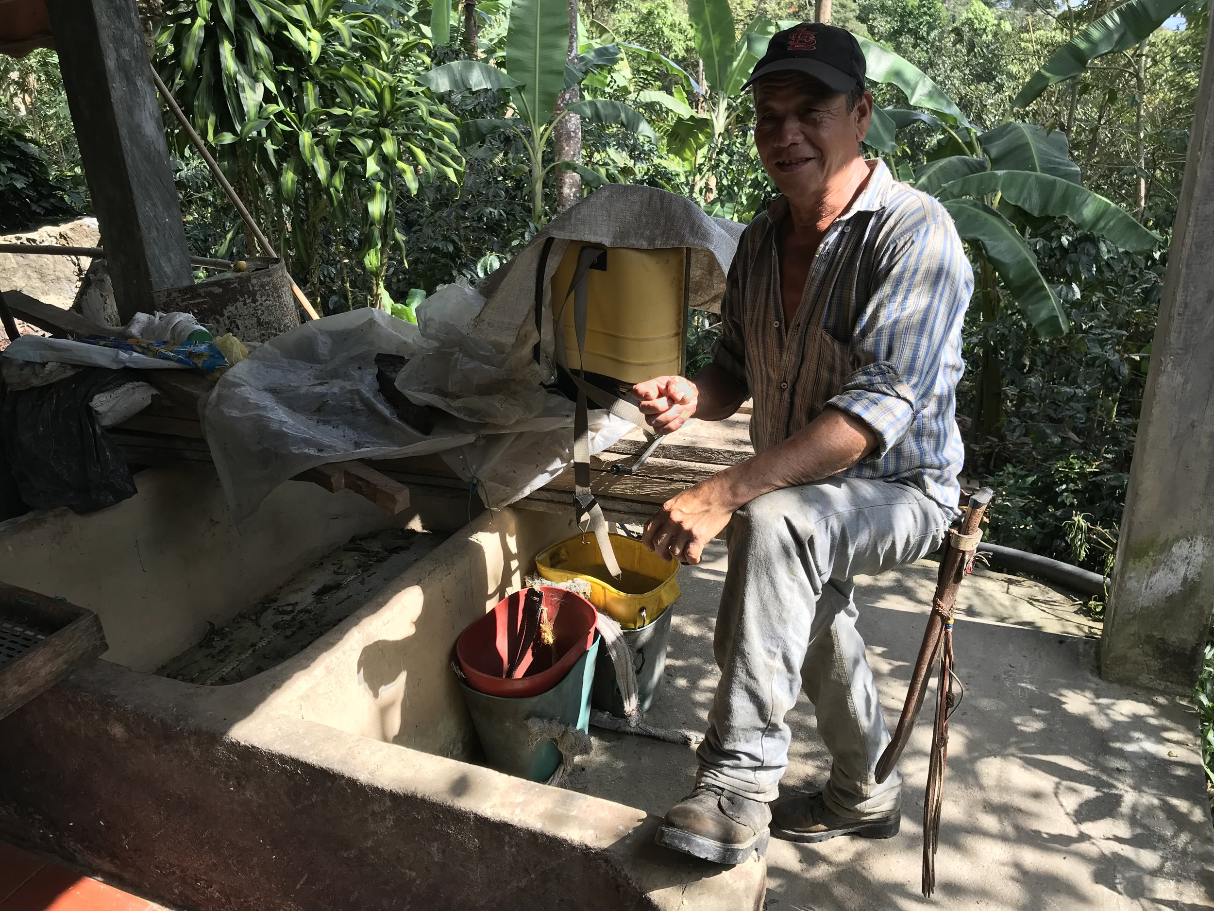 Faustino Reyes, Producer for the La Palma y El Tucan Neighbors & Crops Series