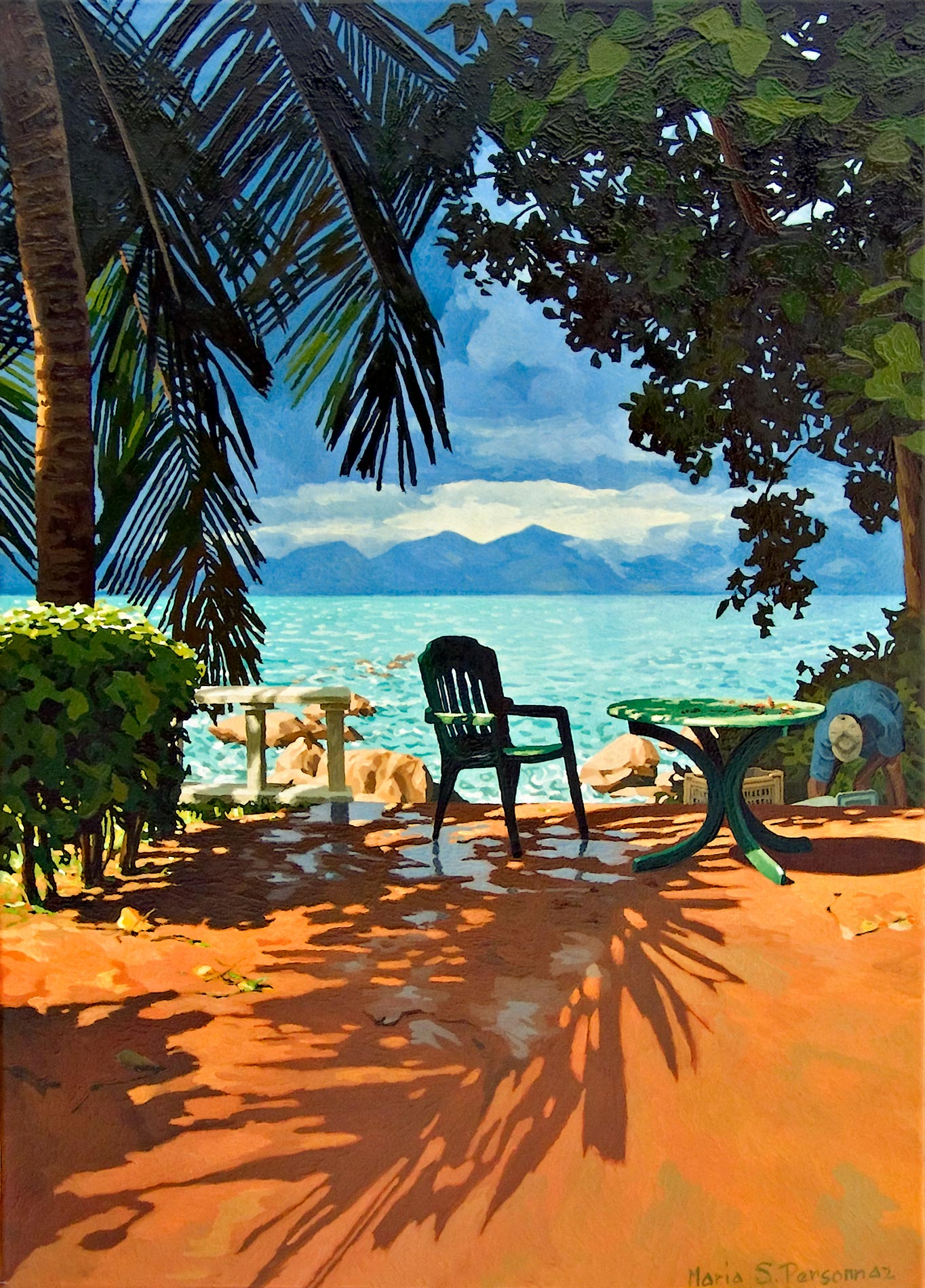 Orage à Anse Soleil, Seychelles