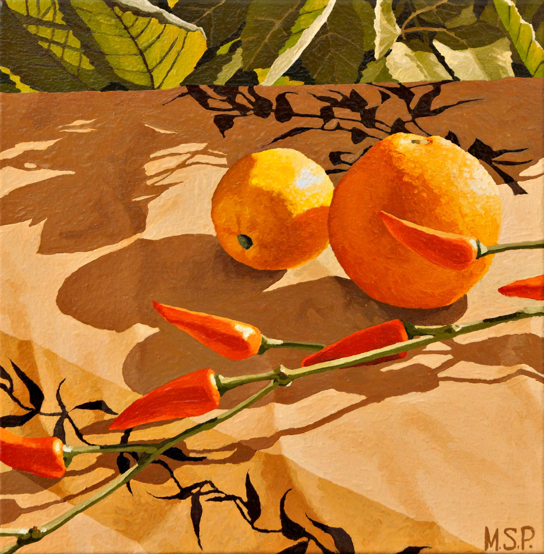 Des branches et des fruits