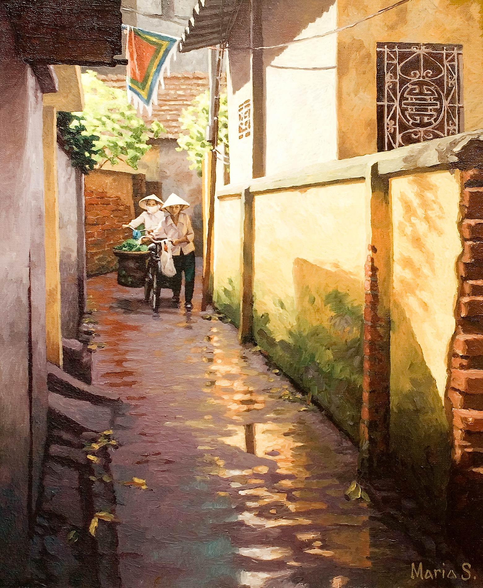 Merchantwomen in Công Vi, Hanoi