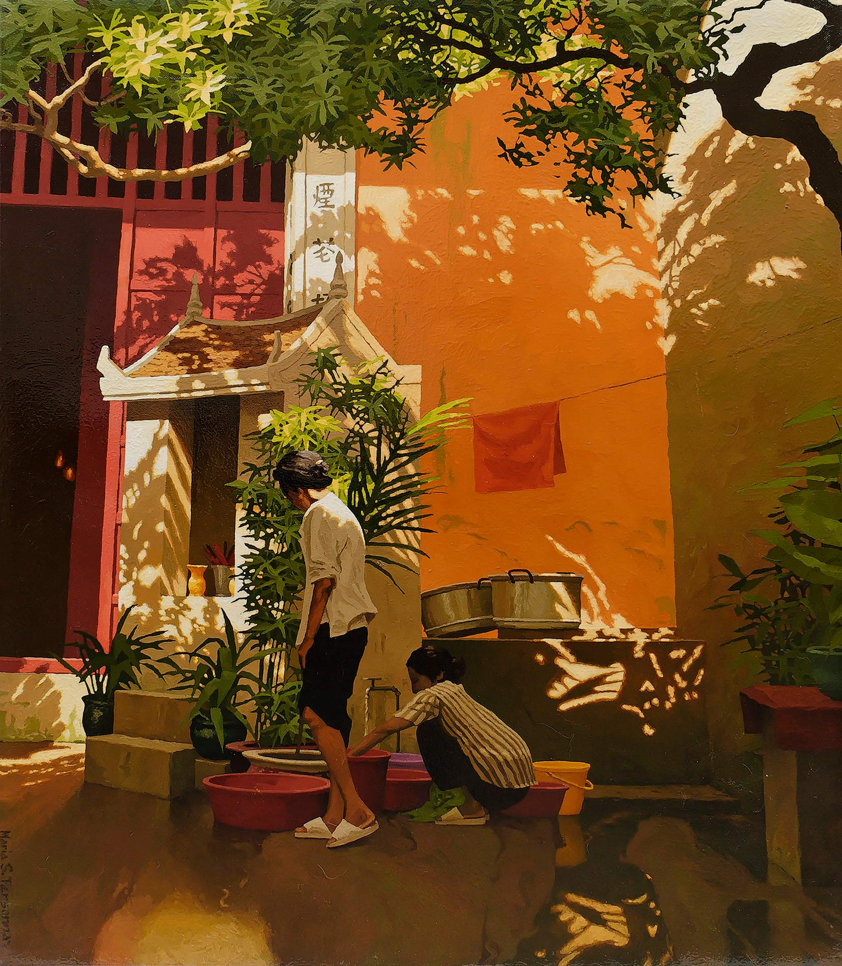 Temple on Ly Quoc Su street, Hanoi