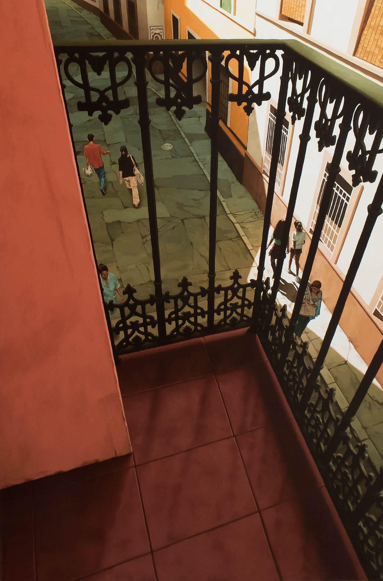 Un balcon en Espagne