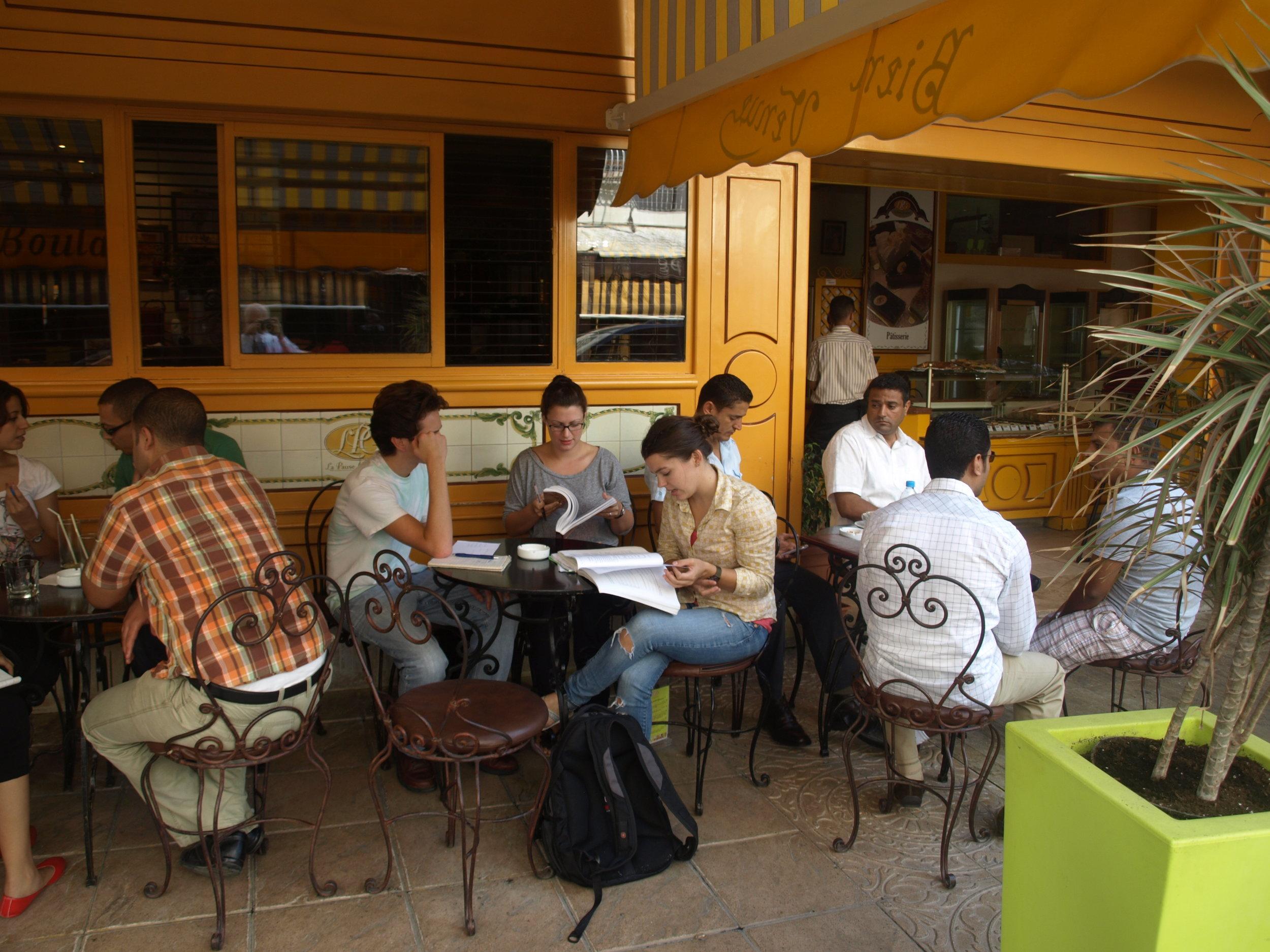 M Students Studying.JPG